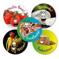 Sticker: Italian Foods