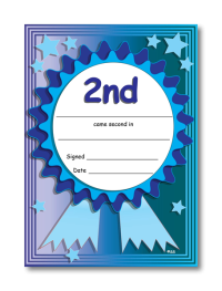 Certificate: 2nd Place