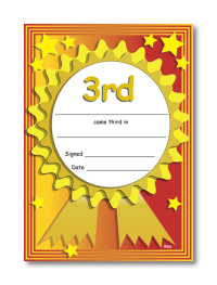 Certificate: 3rd Place
