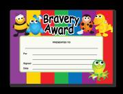 Certificate: Bravery Award