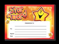 Certificate: Star Award