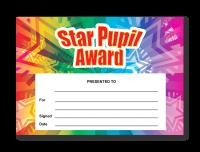 Certificate: Star Pupil Award