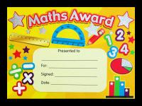 Certificate: Maths Award - Sparkling