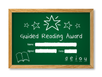 Certificate: Guided Reading Award - Chalkface