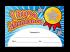 Certificate: 100% Attendance - Sparkling