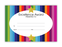 Certificate: Excellence Award