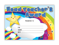 Certificate: Head Teacher`s Award