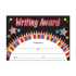 Certificate: Writing Award - Sparkling