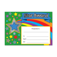 Certificate: Star Award - Sparkling