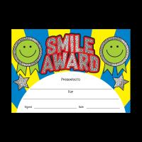 Certificate: Smile Award - Sparkling