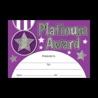 Certificate: Platinum Award - Sparkling