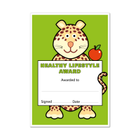 Certificate: Healthy Lifestyle Award