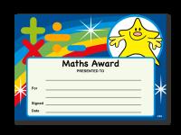 Certificate: Maths Award