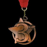Medal: 3rd - Bronze