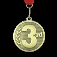 Medal: Bronze 3rd