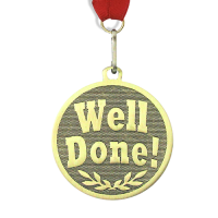 Medal: Well Done