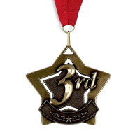 Medal: 3rd Place - Bronze Star