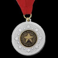 Medal: Silver Attendance Award