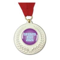 Medal: Sports Day 2021 - Silver