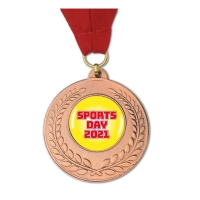 Medal: Sports Day 2021 - Bronze