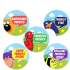 Sticker: Phonics Praise Variety Sheet