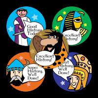 Sticker: History Praise