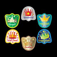 Sticker: Die Cut Crowns