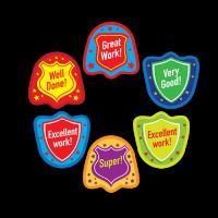 Sticker: Die Cut Shields