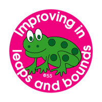 Sticker: Improving in Leaps and Bounds – Frog