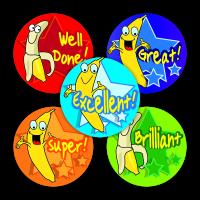 Sticker: Banana Scent - Praise