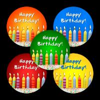 Sticker: Happy Birthday!