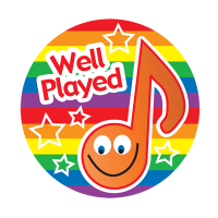 Sticker: Well Played - Music