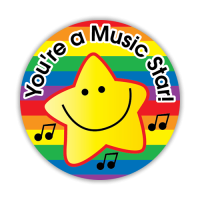 Sticker: You`re A Music Star