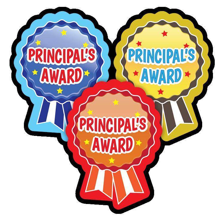 Sticker: Principal's Award - Rosette