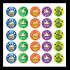 Sticker: Principal's Award Medals & Crowns