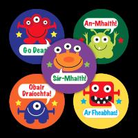 Sticker: Irish Praise Aliens