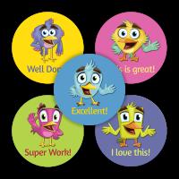 Sticker: Cola Scent - Praise Birds