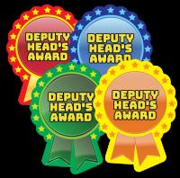 Sticker: Deputy Head`s Award Rosette