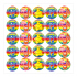 Music Praise Variety Stickers