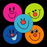 Sticker: Smile Mixed Variety Sheet