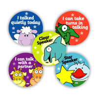 Sticker: Speaking 1