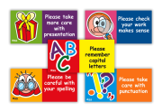 Sticker: Marking Comments Variety Sheet: