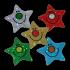 Sticker: Die Cut Stars Variety Sheet