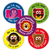 Sticker: Teaching Assistant Variety Sheet: