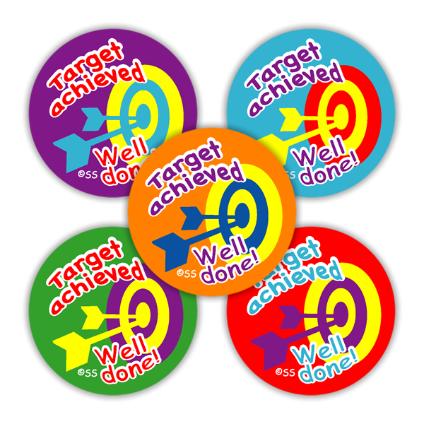 Sticker: Target Achieved Variety