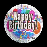 Sticker: Happy Birthday