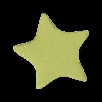 Sticker: Plain Gold Star - Gold Metallic Foil