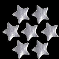 Sticker: Plain Silver Star