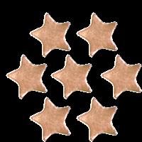 Sticker: Plain Bronze Star