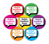 Sticker: Verbal Feedback Given - Midi
